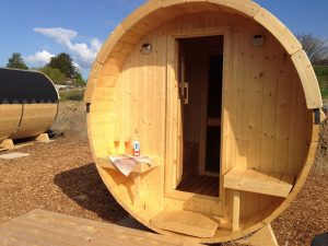 Glamping barrel